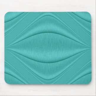 Turquoise Curviture Mouse Pad
