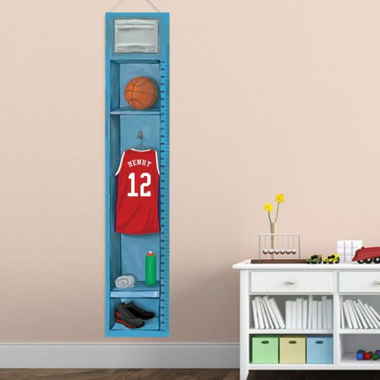 Sports Locker Growth Chart - Basketball