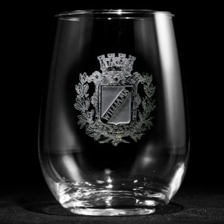 Regal Crest Personalized Stemless Wine Glass