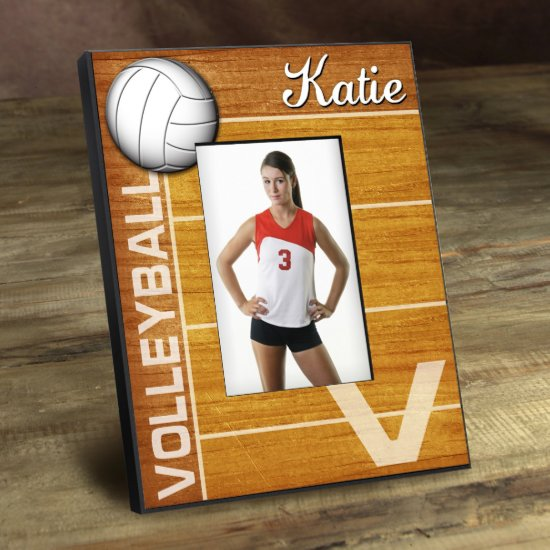 Personalized Kids Sports Frame - Volleyball