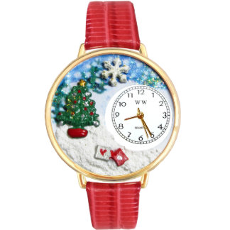 Reloj del árbol de navidad