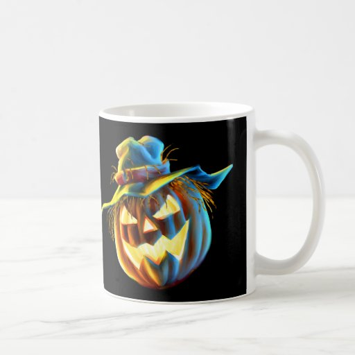 ScareJack O Lantern Scarecrow GNAW Mug