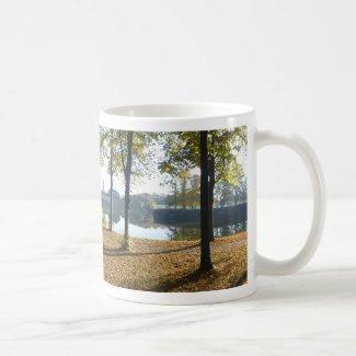 Panoramic City Walls & Church Coffee Mug