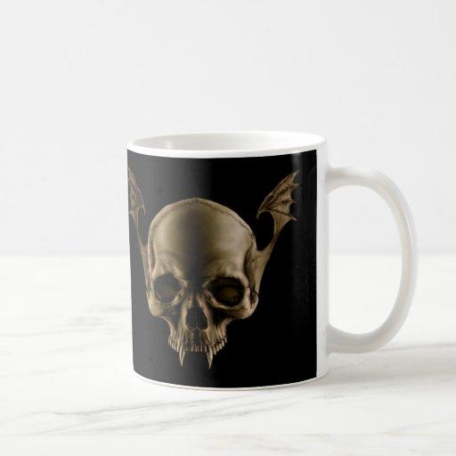 Vampire Skull Sepia BLED Mug