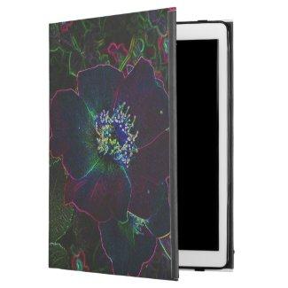Electric Rose Flowers Powis iPad Pro Case