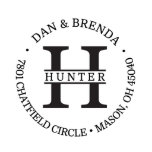 """Hunter Return Address Stamp<br><div class=""""desc"""">This push down,  custom address stamp is perfect to use on your own personal stationery,  save the dates,  wedding invitations,  or moving announcements. Perfect as a housewarming gift,  engagement gift,  wedding gift,  or personalized gift for any occasion.</div>"""