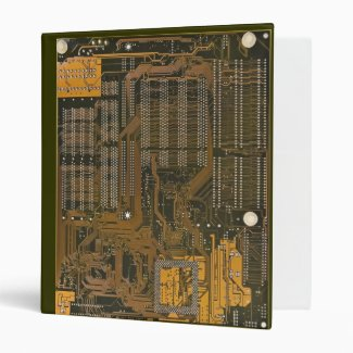 electronic circuit board binder