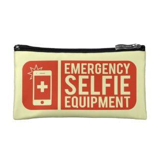Funny Emergency Selfie Equipment Signboard Makeup Bag