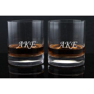 Engraved Whiskey Glasses