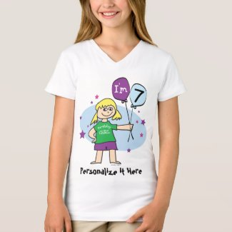 7th Birthday Tee Shirt