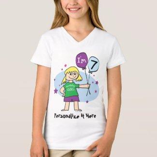 7th Birthday Tee Shirt
