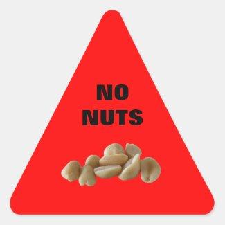 Nut Allergy sticker