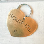"""Brass Heart Shaped Dog Identification Tag<br><div class=""""desc"""">Meet Nala aka """"Honey Girl"""". Nala lives with her humans and her twin brother Sheriff. Sheriff is always obeying the rules, he never eats garbage or digs or even barks at the mailman. Nala, on the other hand, is a bit of a rebel. One time, their humans left the back...</div>"""