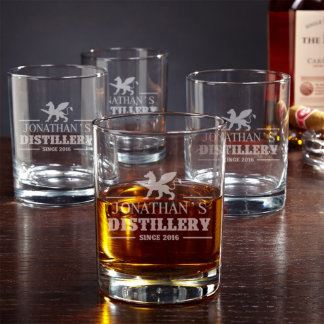 Eastham Olympia Personalized Rocks Glasses