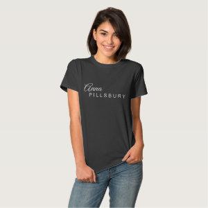 Anna Pillsbury Logo (Women's) T Shirt
