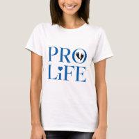 Pro Life Blue T-Shirt