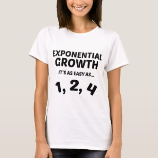 Exponential Growth Tee Shirt