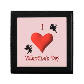 I Heart Valentine's Day Jewelry Box