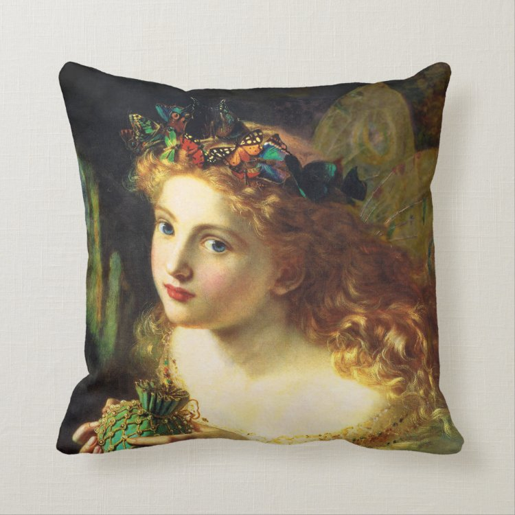 Sophie Anderson Fairy Pillow
