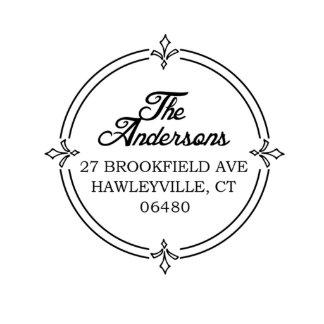 Brookfield Self Inking Return Address Stamp