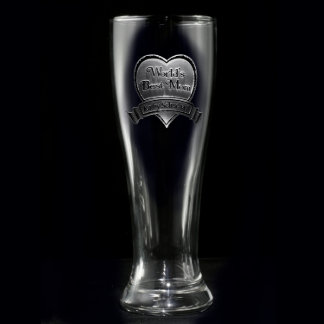 Best Mom Personalized Pilsner Glass