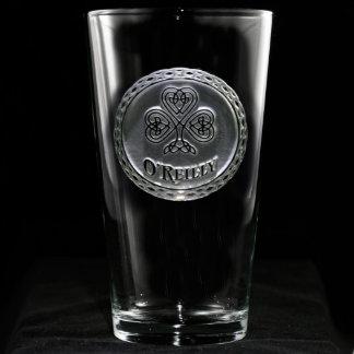 Irish Pride Personalized Pint Glass