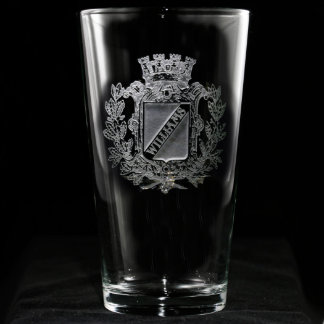 Regal Crest Personalized Pint Glass