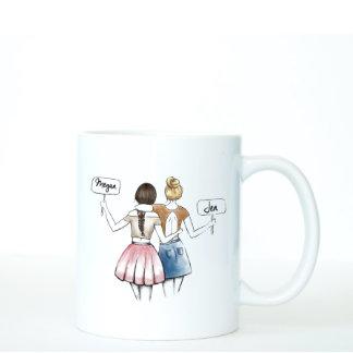 Personalized Best Friend Gift - Coffee Mug