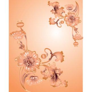 Custom Sized Window Film Art Glass DIY Flower I7