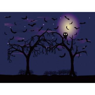 Custom Window Film DIY Halloween Owl Tree Bat I41