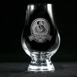Classic Script Personalized Glencairn Scotch Glass