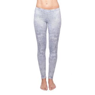 Agate Geode Healing Crystal Grey Yoga Leggings