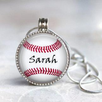 Magnetic Interchangeable Baseball Pendant