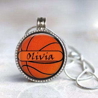 Magnetic Interchangeable Basketball Pendant