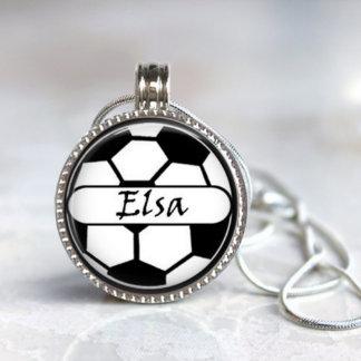 Magnetic Interchangeable Soccer Pendant