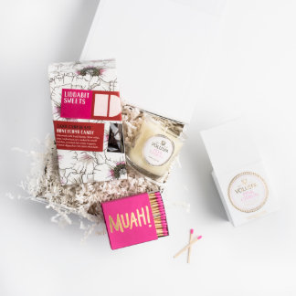 """Best Day Ever"" Custom Bridesmaid Gift Box"