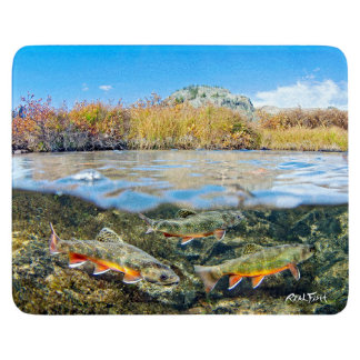 RealfishInlandSeries:Brook TroutCutting Boards