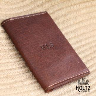 The Pioneer Fine Leather Passport Wallet