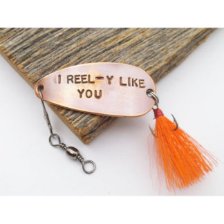 I REEL-Y LIKE YOU Customized Fishing Lure