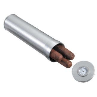 Visol Aluminum Cigar Case/Travel Humidor