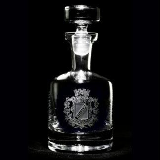 Regal Crest Personalized Decanter Spirits Decanter