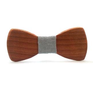 Rustic Alder Wood Wedding Bow Tie