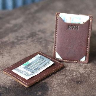 The Trey Money Clip Front Pocket Wallet