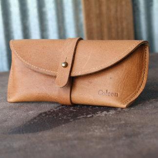 The Aviator Fine Leather Sunglasses Case
