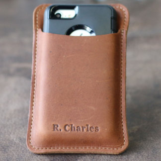 Fine Leather iPhone Otterbox Holster 6/6s/7