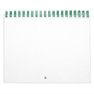 Field Of Green Calendar