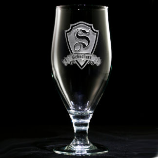Family Crest Personalized Goblet