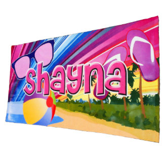 Personalized Sublimation Beach Blanket