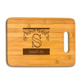 Large Bamboo Cutting Board #4