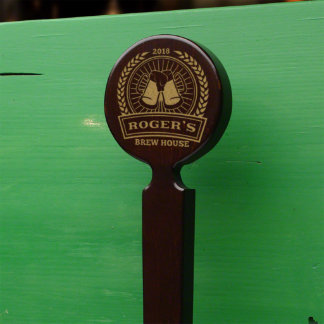 Well-Made Brew House Personalized Beer Tap Handle